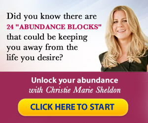"Ever feel like your goals are just out of reach? An ""Abundance Block"" might just be what's been holding you back. Check out this program that guides you through overcoming your ""Abundance Blocks"", step by step"