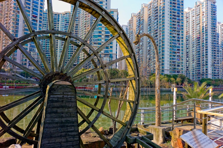 Dragon Waterwheel