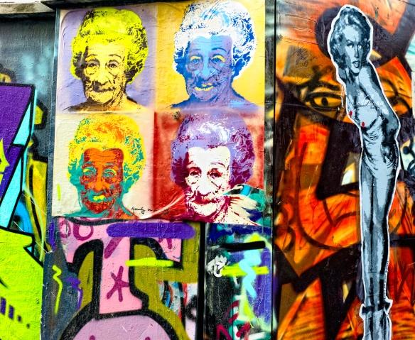 Warhol meets Marilyn