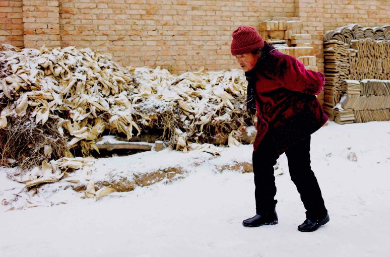 winters stroll